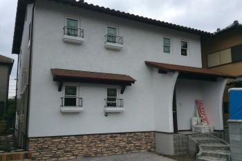 埼玉県川越市 Y様邸 漆喰の外壁・内壁